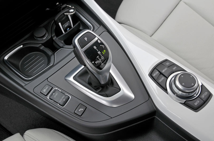 BMW 120d automatic gearbox