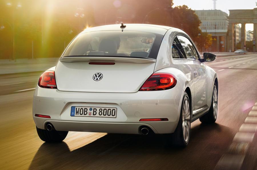 Volkswagen Beetle rear end