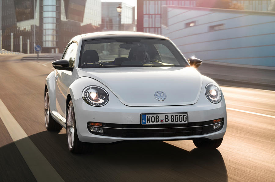 Volkswagen Beetle front end