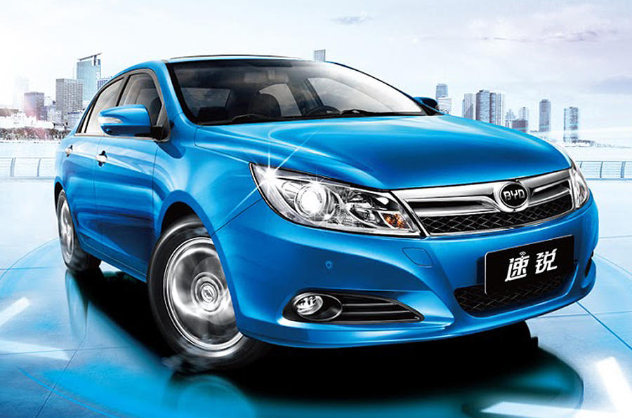 BYD F5 Suri gets five-star safety rating