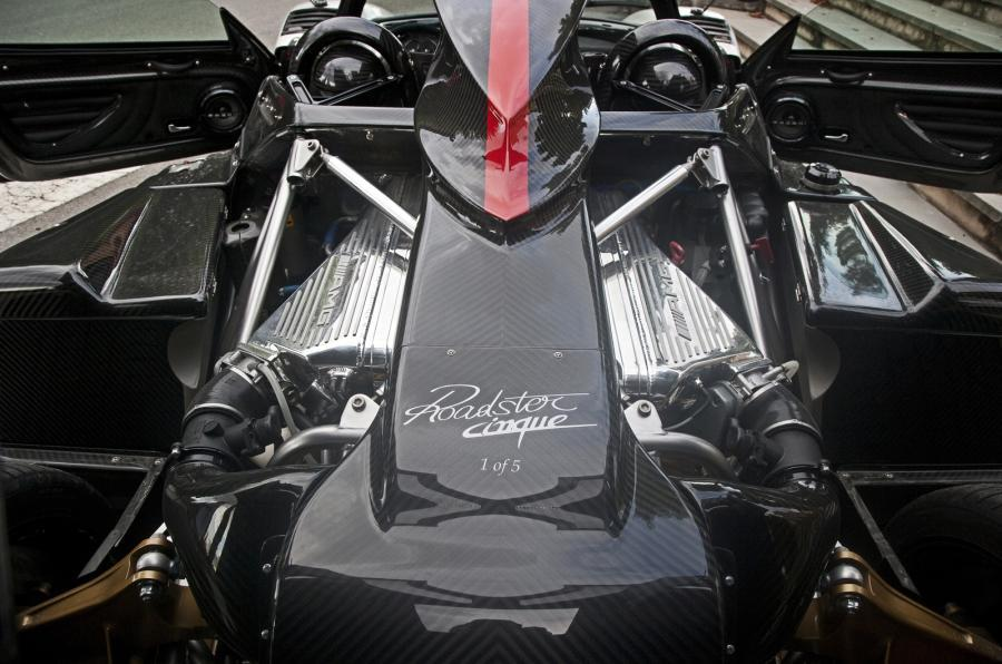 7.3-litre V12 Pagani Zonda engine