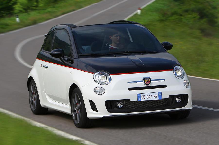 Fiat 500C Abarth Esseesse cornering