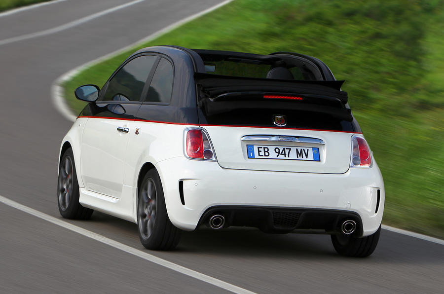 Fiat 500C Abarth Esseesse rear