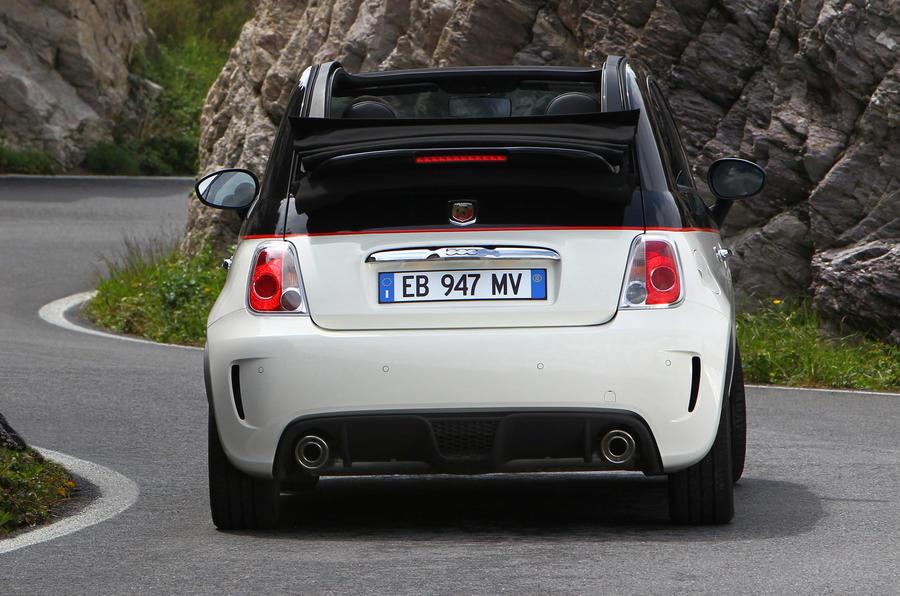 Fiat 500C Abarth Esseesse rear cornering