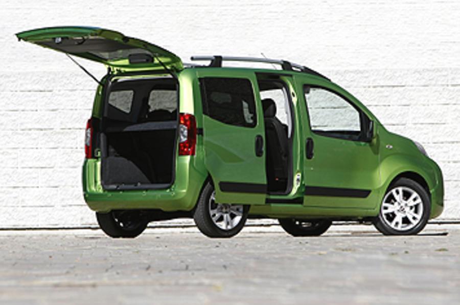 Fiat Qubo 1.3 Multijet 80HP Technical Specs, Dimensions