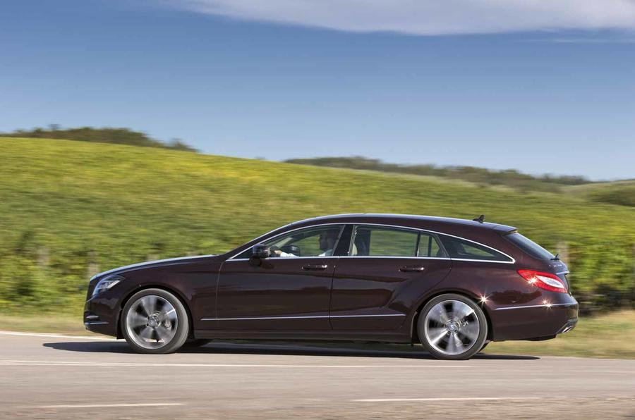 Mercedes-Benz CLS 350 CDI Shooting Brake side profile
