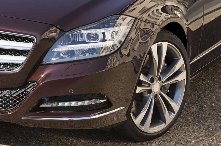 17in Mercedes-Benz CLS 350 CDI Shooting Brake alloys