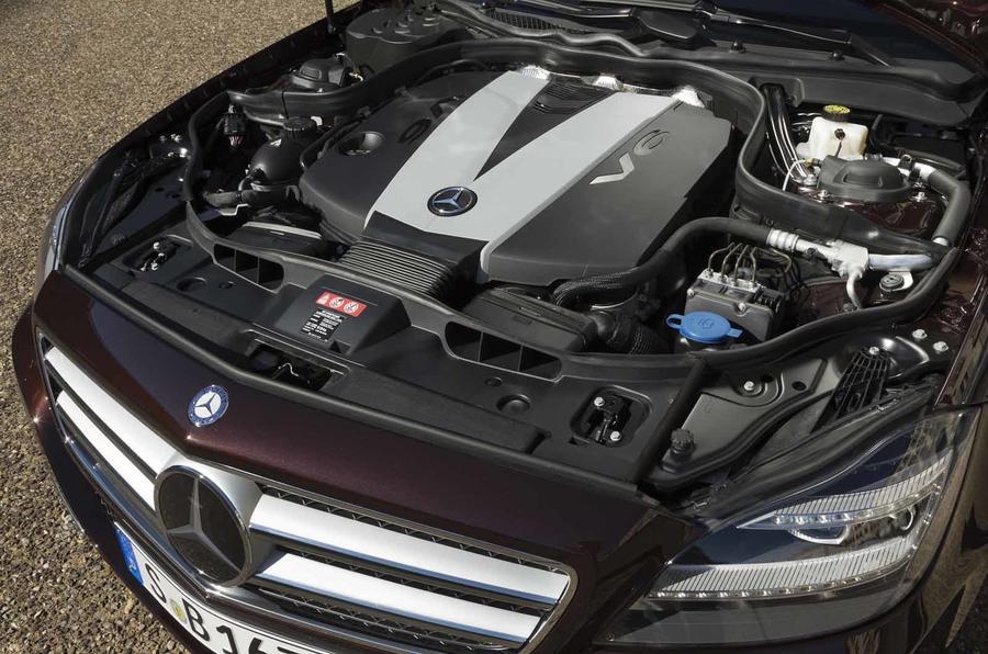 3.0-litre V6 Mercedes-Benz CLS diesel engine