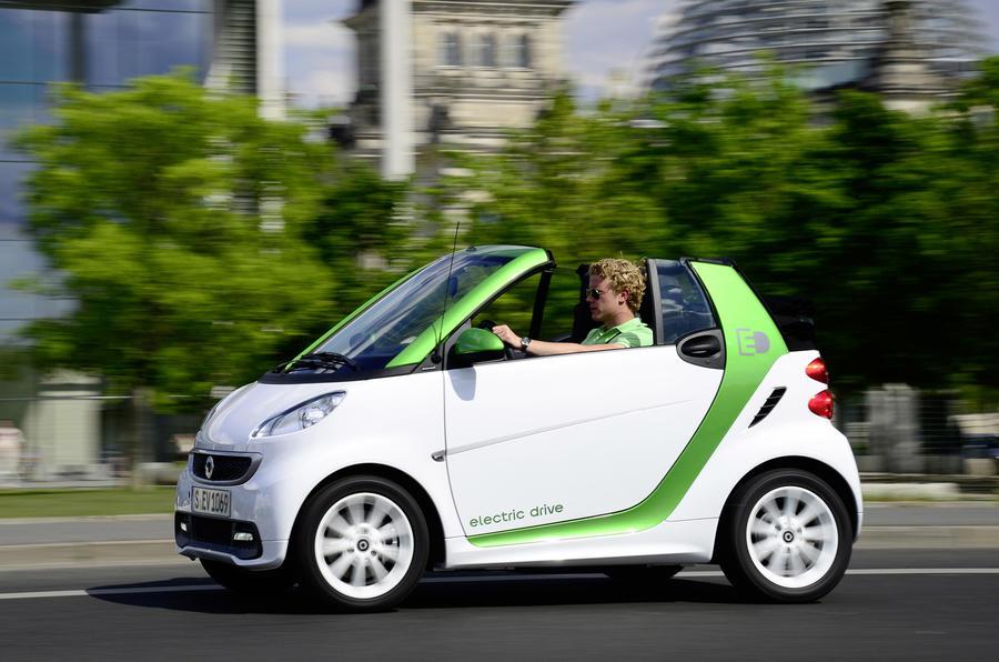 Fiat smart car