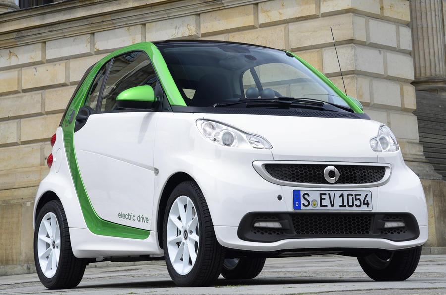 78mph Smart Fortwo Electric Drive