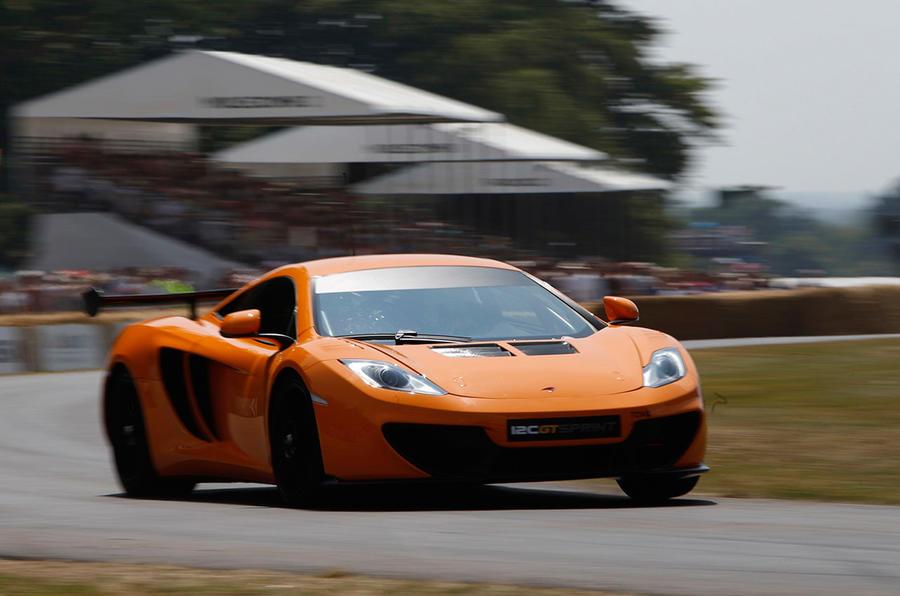 McLaren 12C GT Sprint driven