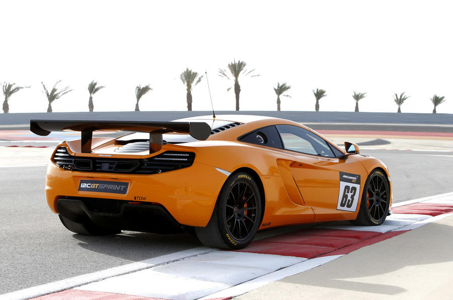 McLaren 12C GT Sprint track car revealed