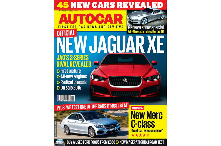 Autocar magazine 12 March preview