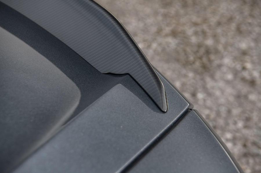 Aston Martin DBS Superleggera 2018 road test review - spoiler