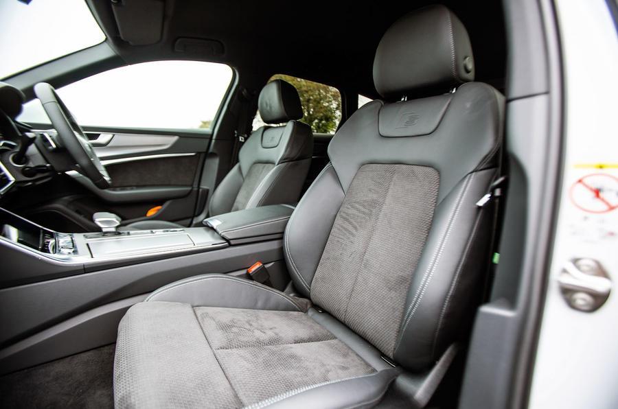 Audi A6 Avant 2018 road test review - cabin