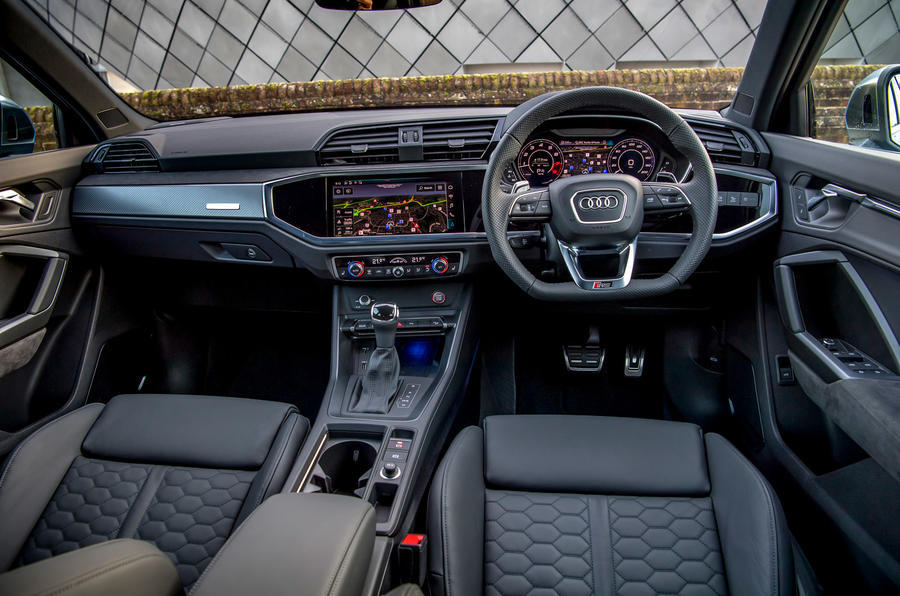 Audi RS Q3 Sportback 2020 road test review - dashboard