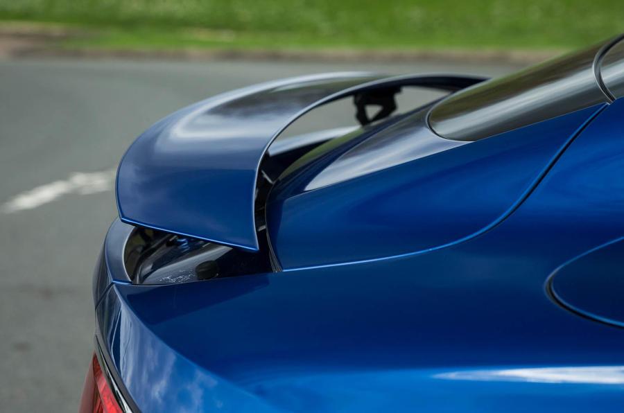 Bentley Continental GT 2018 Autocar road test review spoiler