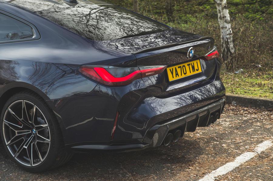 13 BMW M4 Compétition 2021 RT arrière