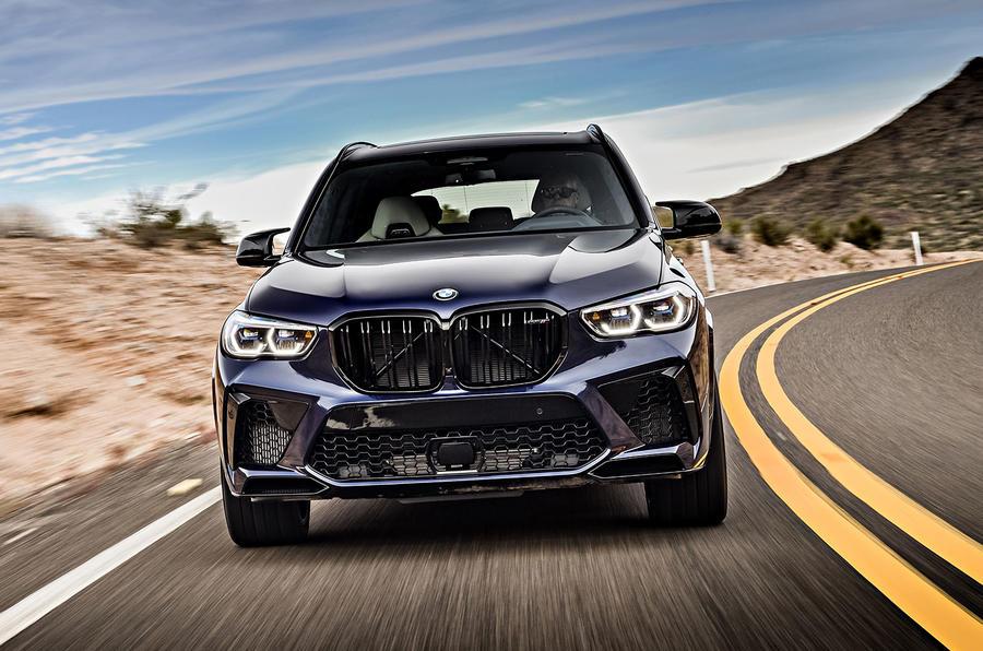 BMW X5 M Competition 2020 : examen des essais routiers - au nez et à la barbe