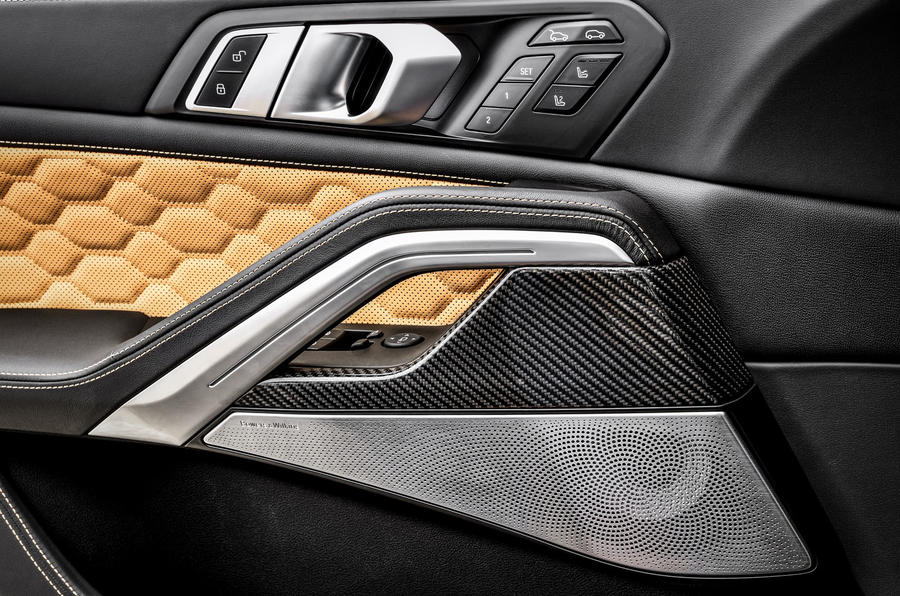 BMW X6 M Competition 2020 : examen des essais routiers - garnitures de portes