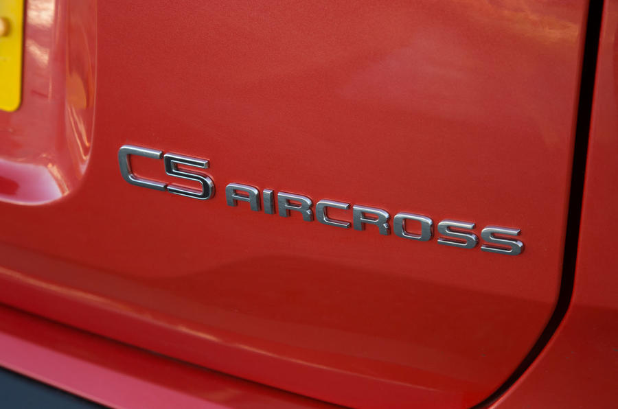 Citroen C5 Aircross 2019 road test review - rear badge