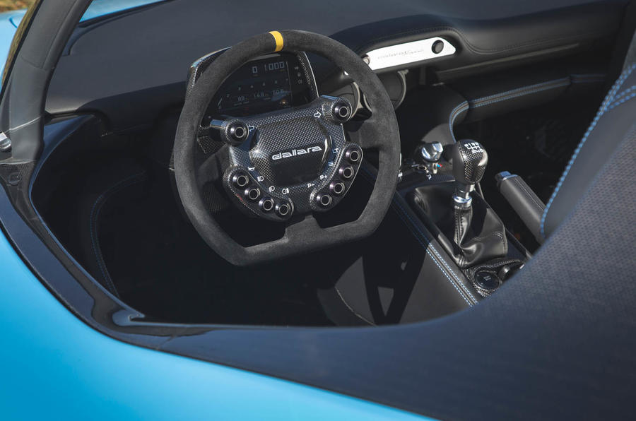 Dallara Stradale 2019 road test review - dashboard