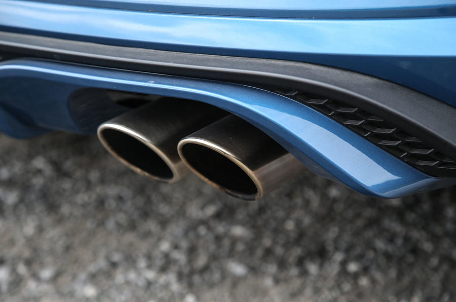 Ford Fiesta ST 2018 road test review exhaust