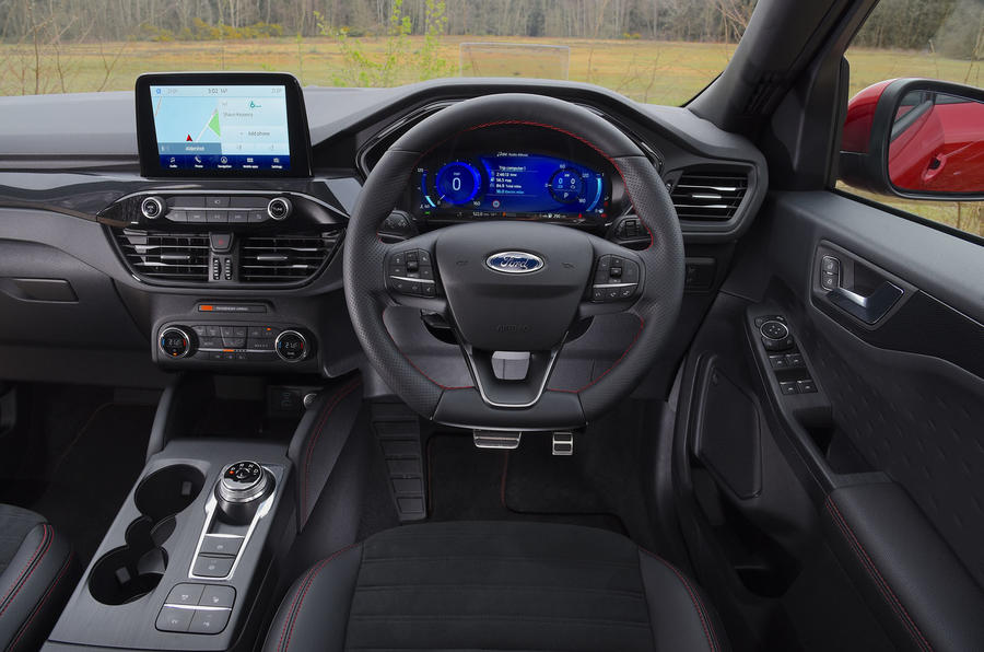 Ford Kuga 2020 road test review - dashboard