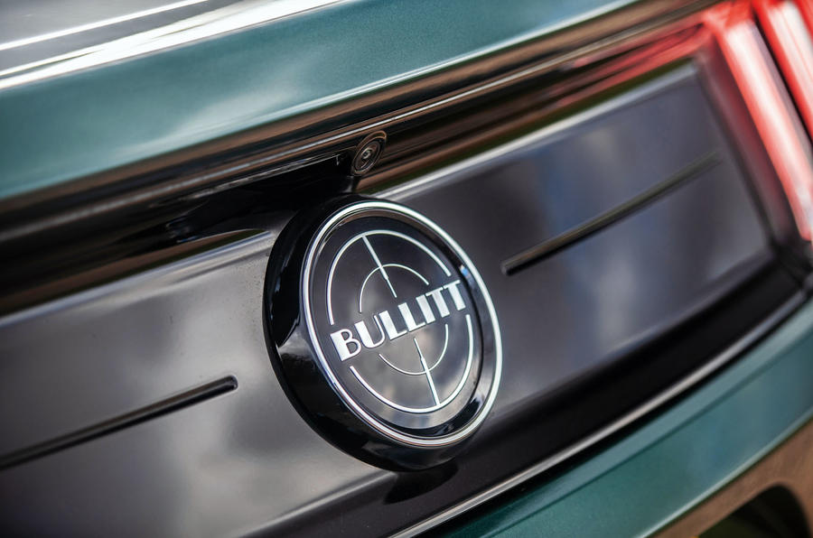 Ford Mustang Bullitt 2018 road test review - Bullitt badge