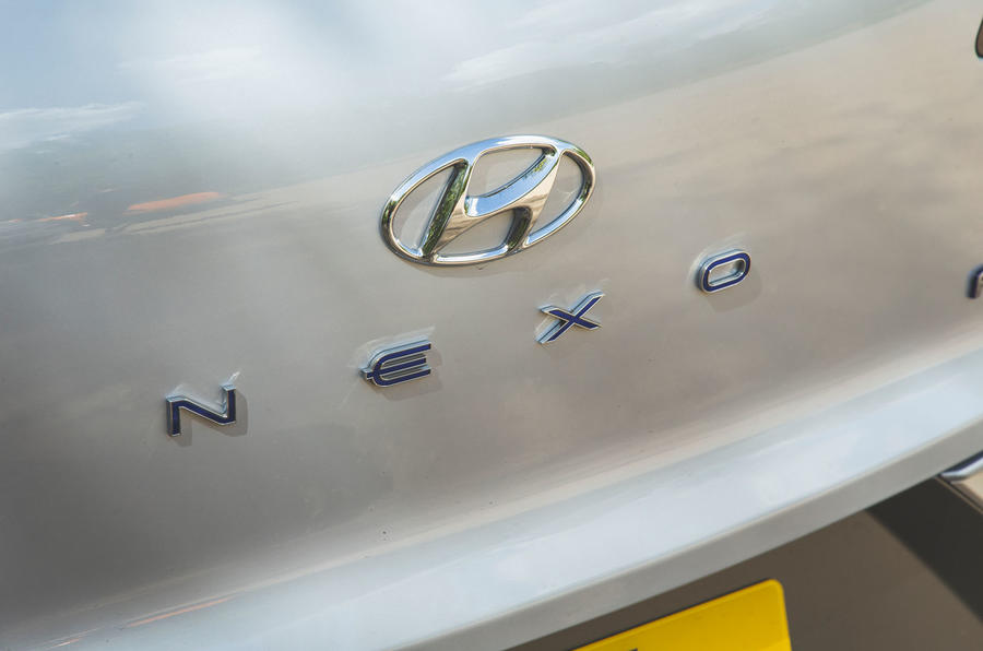 Hyundai Nexo 2019 road test review - rear badge