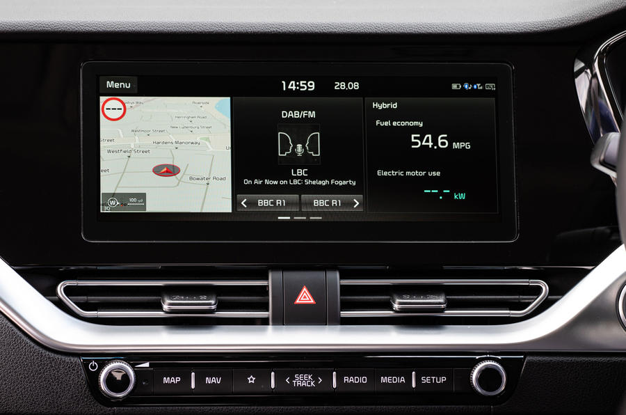 13 Kia Niro 2021 : essai routier, revue de l'infotainment