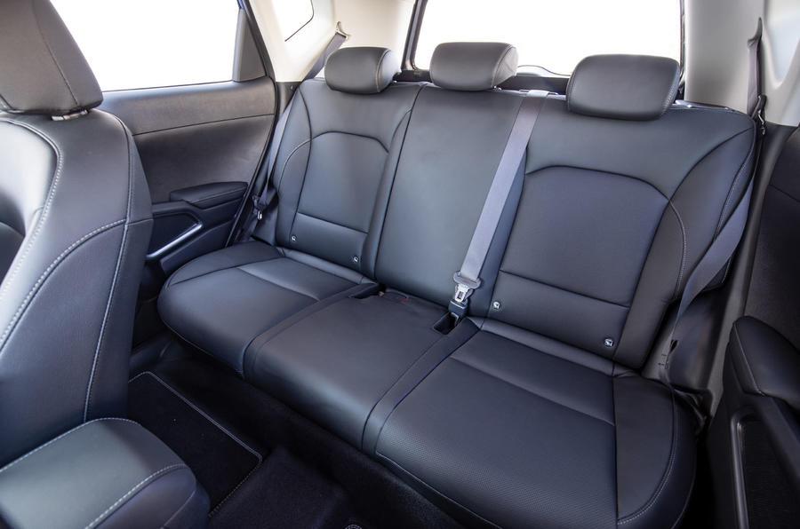 Kia Soul EV 2019 European first drive - rear seats