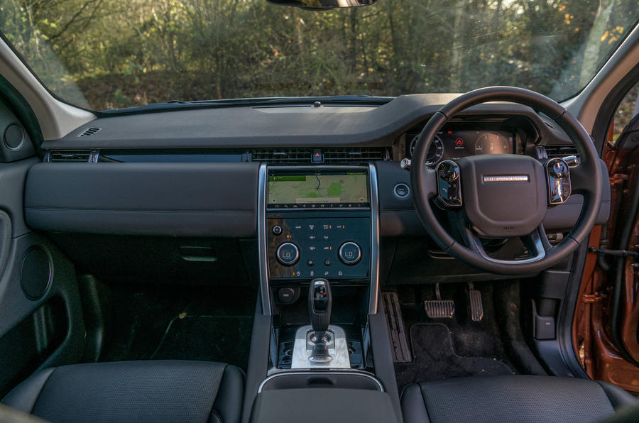 Land Rover Discovery Sport 2020 road test review - dashboard