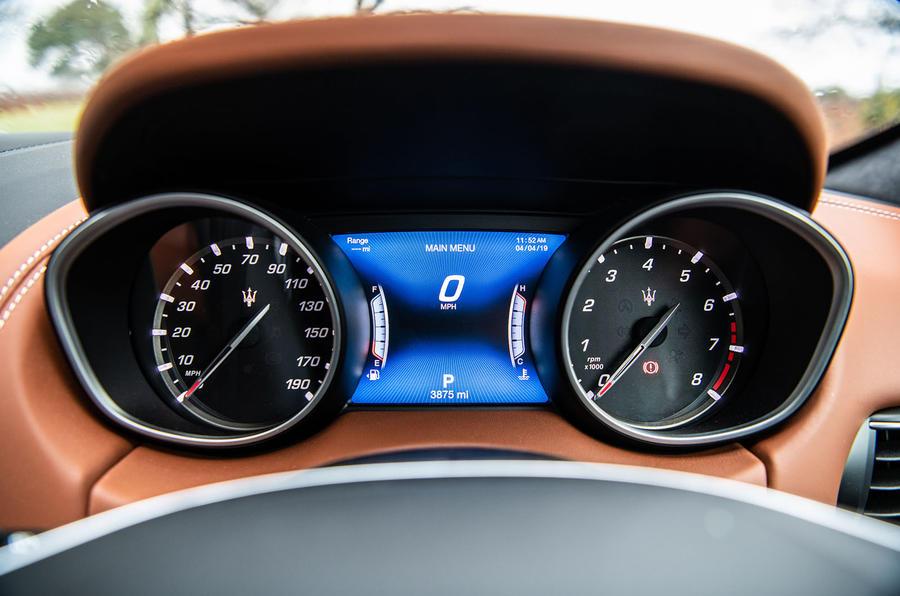 Maserati Levante S GranLusso 2019 road test review - instruments