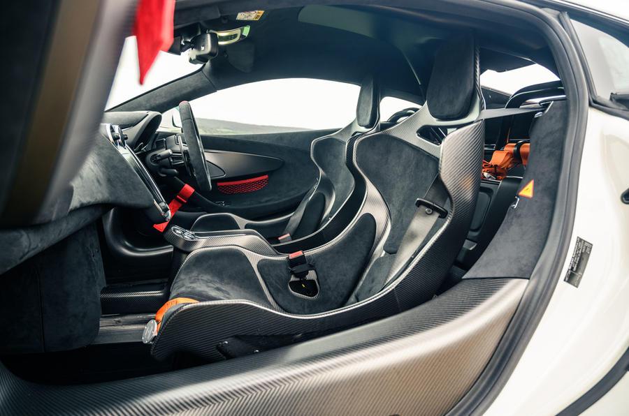 13 McLaren 620R 2021 road test review cabin