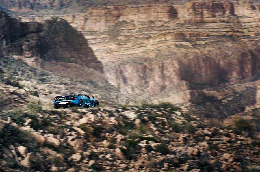 McLaren 720S Spider 2019 road test review - scenery