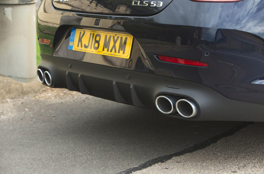 Mercedes-AMG CLS 53 2018 road test review - exhausts