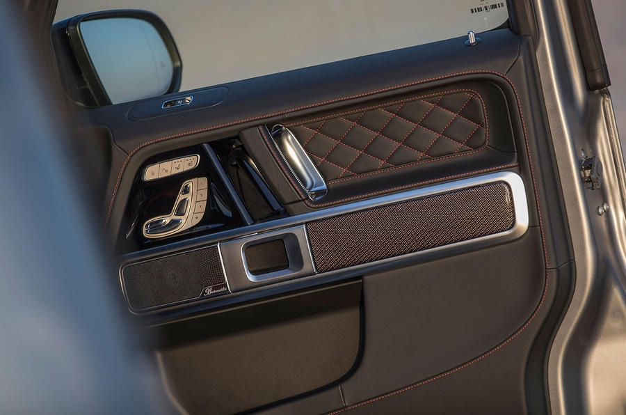 Mercedes-AMG G63 2018 review door cards