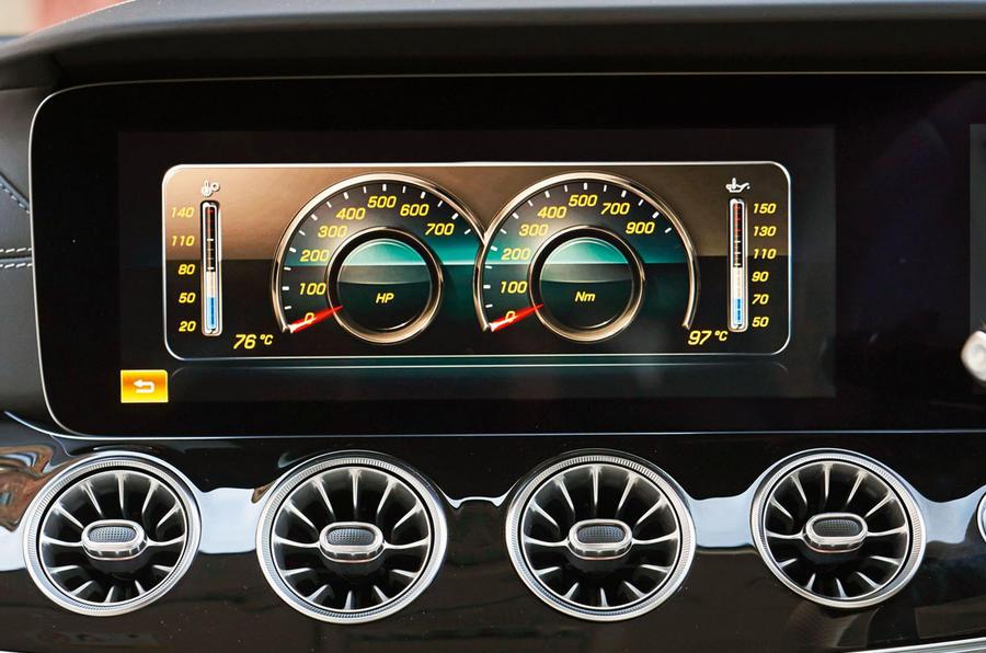 Mercedes-AMG GT four-door Coupé 2019 road test review - infotainment