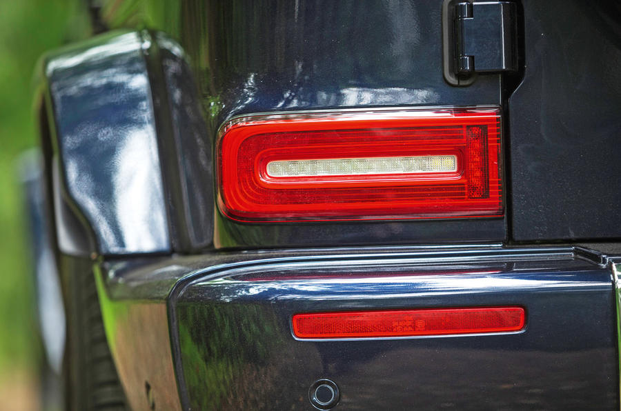 Mercedes-Benz G-Class 2019 road test review - rear lights