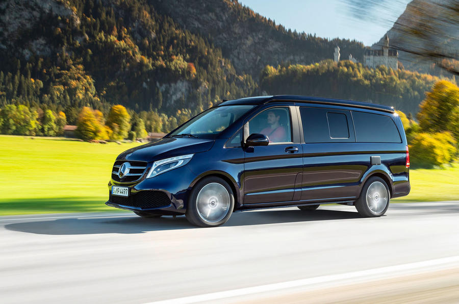 Mercedes-Benz Marco Polo 2019 road test review - on the road front