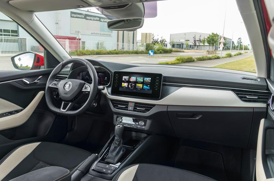 Skoda Kamiq 2019 road test review - cabin