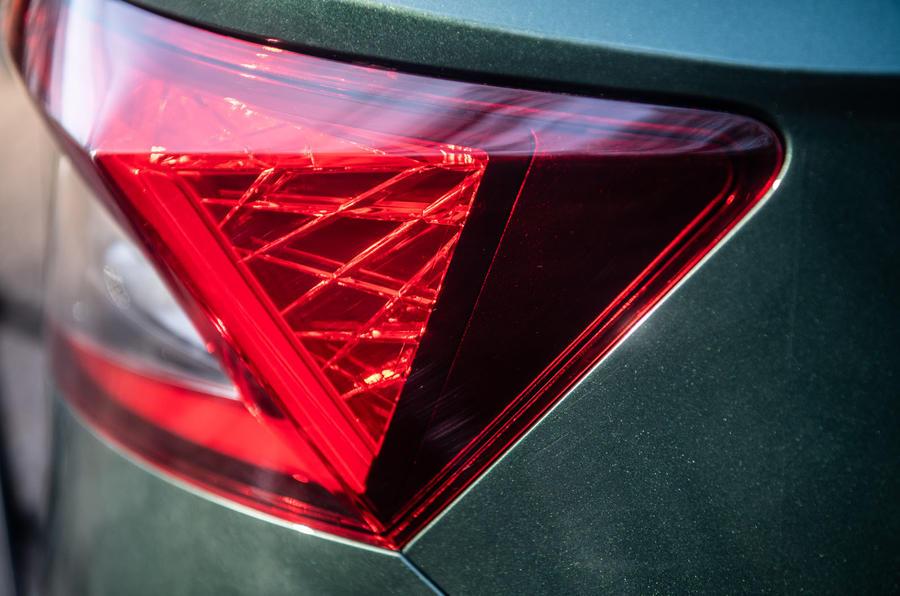 Skoda Karoq Scout 2019 road test review - rear lights