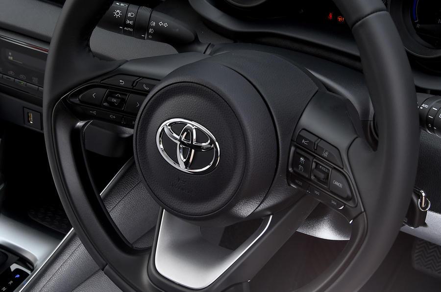 Examen de l'essai routier de la Toyota Yaris 2020 - volant
