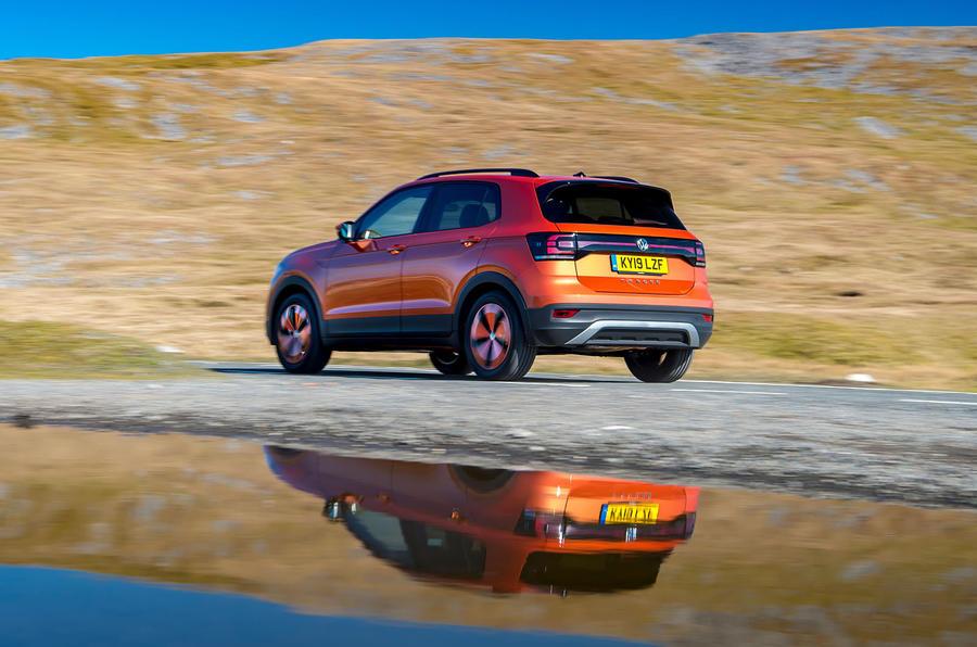 Volkswagen T-Cross 2019 review - on the road water