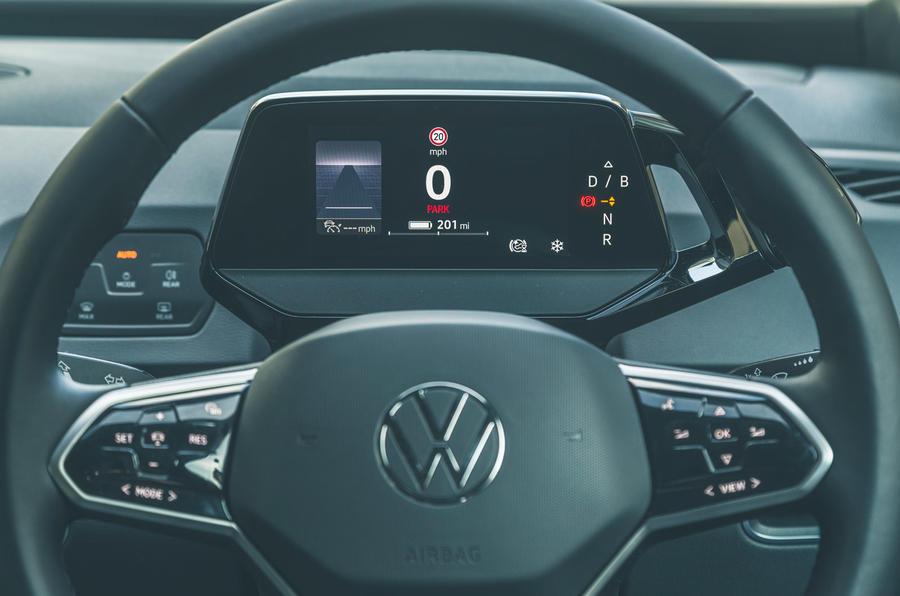 13 VW ID 3 2021 essai routier instruments