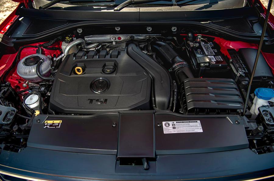Volkswagen T-Roc 2019 road test review - engine