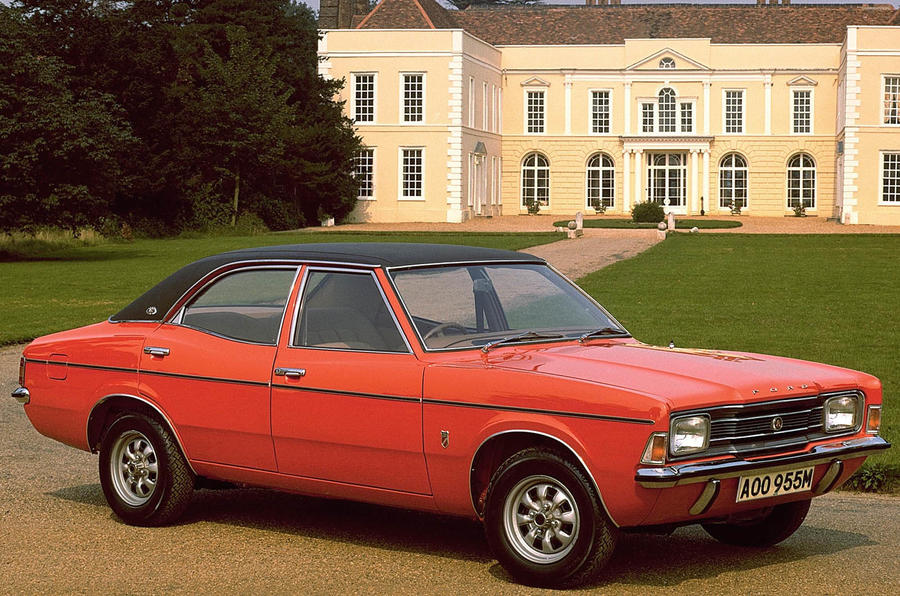 B For on Ford Cortina 1970 1976 Mk3