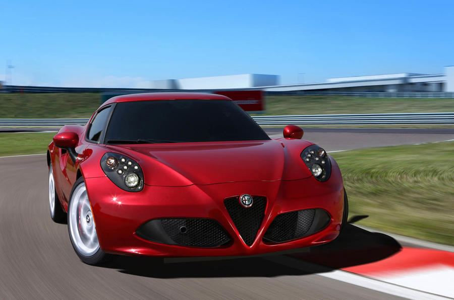 Alfa Romeo 4C servicing