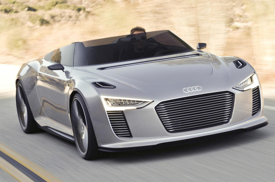 Audi e-tron Spyder front quarter